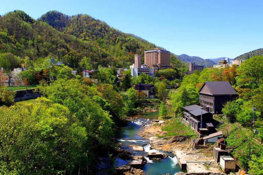 北海道定山渓温泉