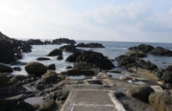 鹿児島・平内海中温泉